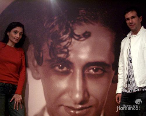 Buenos Aires Flamenco® en Arte y Provocación  Adriana Pavón® y Alejandro Salade, director de Fundación Miguel de Molina